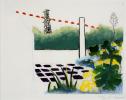 Roger Raveel Gekleurde tuin