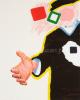 Roger Raveel Reikende hand