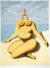 René Magritte - La race blanche