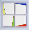 Gaston Bogaerts - Quatre carrés en reliëf