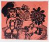 Guillaume Corneille - Rose tropique