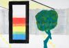 Roger Raveel - Muurtje, boompje en de drie primaire kleuren