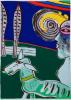 Guillaume Corneille Kleurenlithografie uit 1978