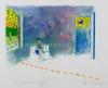 Roger Raveel - Kamer met rode streeplijn (bijgewerkt)