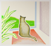 Antoon De Clerck - Kat voor het venster