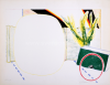Roger Raveel - Karretje, muur en witte aanwezigheid