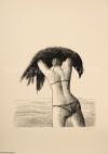 Roland Topor Femme et oiseau