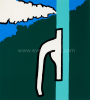 Raoul De Keyser - Wolk en raamklink