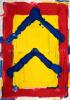 Bram Bogart Rood geel blauw