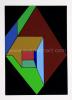 Guy  Vandenbranden Geometrisch abstracte compositie