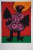 Guillaume Corneille Oiseau Kivu (XL)