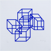 Pol Bury Cubes bleus