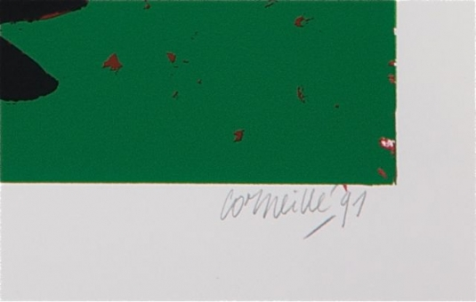 Corneille Guillaume - Oiseau Kivu (XL)