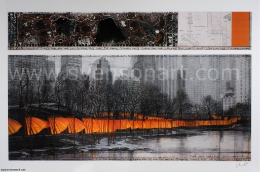 Christo And Jeanne-Claude  - The Gates, Project for Central Park, New York