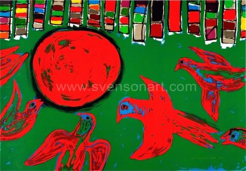 Corneille Guillaume - Ivresse des oiseau