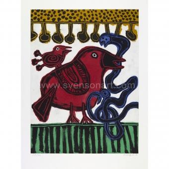 Corneille Guillaume - L´oiseau chasseur de serpent
