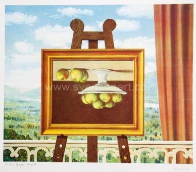 Magritte René - Le réveil matin