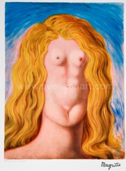 Magritte René - Le viol