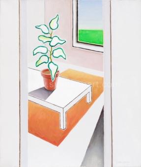 De Clerck Antoon - Een zonnig stil leven in huis