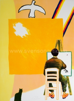 Raveel Roger - De schilder