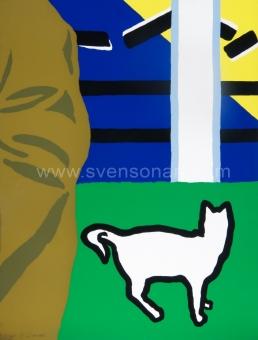 Raveel Roger - Gras, kat, blauw...