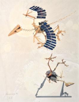 Panamarenko  - Archaeopteryx collage