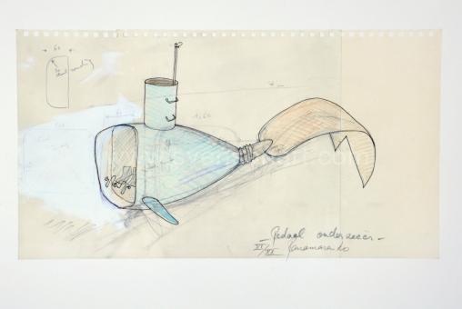 Panamarenko  - Pedaal onderzeeër