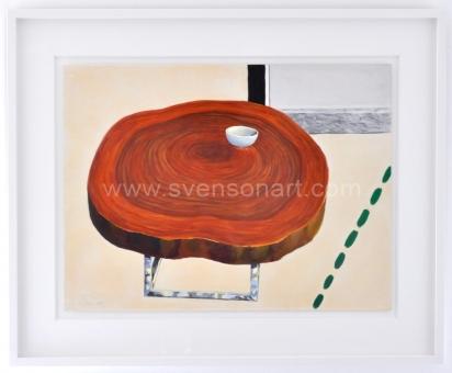 Raveel Roger - Salontafel met kopje