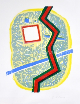 Raveel Roger - Een abstractie in mijn tuin