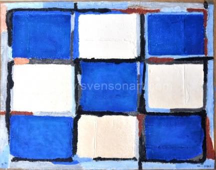 Bogart Bram - Blauw wit zwart
