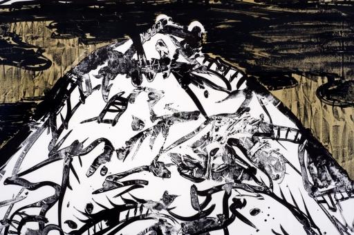 Alechinsky Pierre - A contre nuit