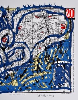 Alechinsky Pierre - Arrondissement de Paris - 20