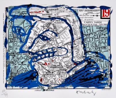 Alechinsky Pierre - Arrondissement de Paris - 19