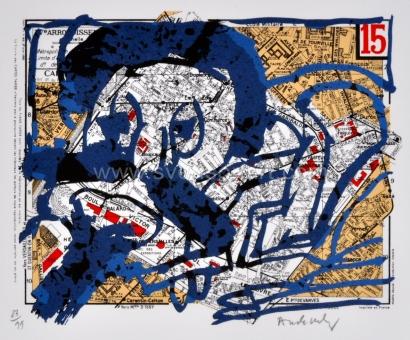 Alechinsky Pierre - Arrondissement de Paris - 15