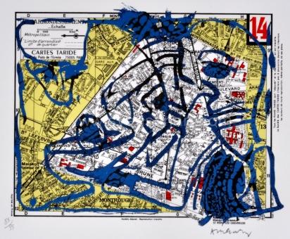 Alechinsky Pierre - Arrondissement de Paris - 14