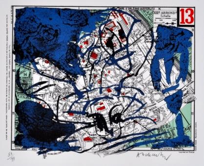Alechinsky Pierre - Arrondissement de Paris - 13