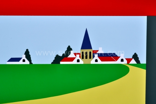 Willaert Joseph - Het dorp: Leke