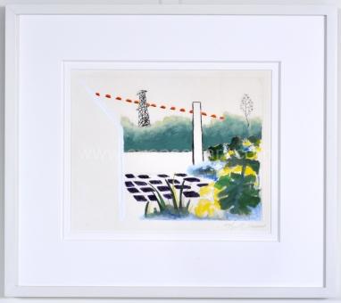 Raveel Roger - Gekleurde tuin