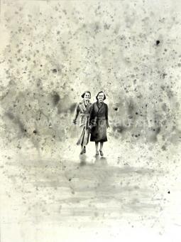 Deglin Bart - Women walking