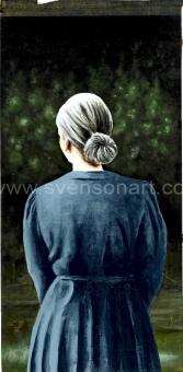 Deglin Bart - Portrait of a woman