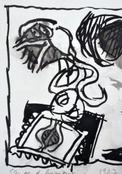 Alechinsky Pierre - Saute d'humeur