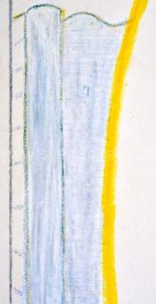 Raveel Roger - Karretje, muur en witte aanwezigheid (bijgewerkt)