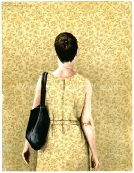 Deglin Bart - Portrait of a woman (Isolde)