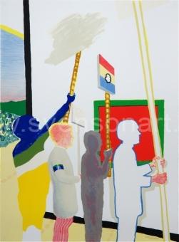 Raveel Roger - De schilderijenoptocht