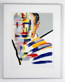 Raveel Roger - Zelfportret en een abstractie