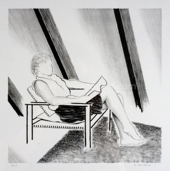 De Clerck Antoon - Vrouw in zetel