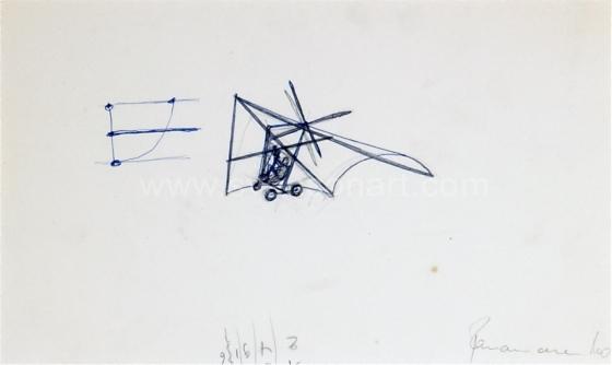Panamarenko  - Deltavliegtuig