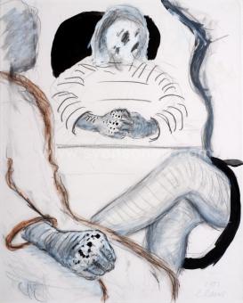 Raveel Roger - Een spanning door grijs en zwart