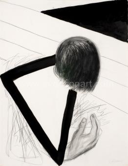 Raveel Roger - Driehoek tussen hoofd en hand