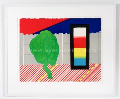 Raveel Roger - Muurtje, boompje en de drie primaire kleuren